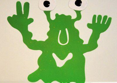 Monster - klein grün
