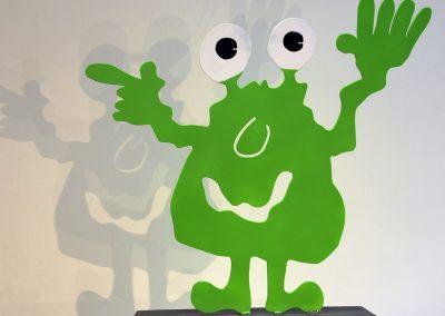 Monster - grün