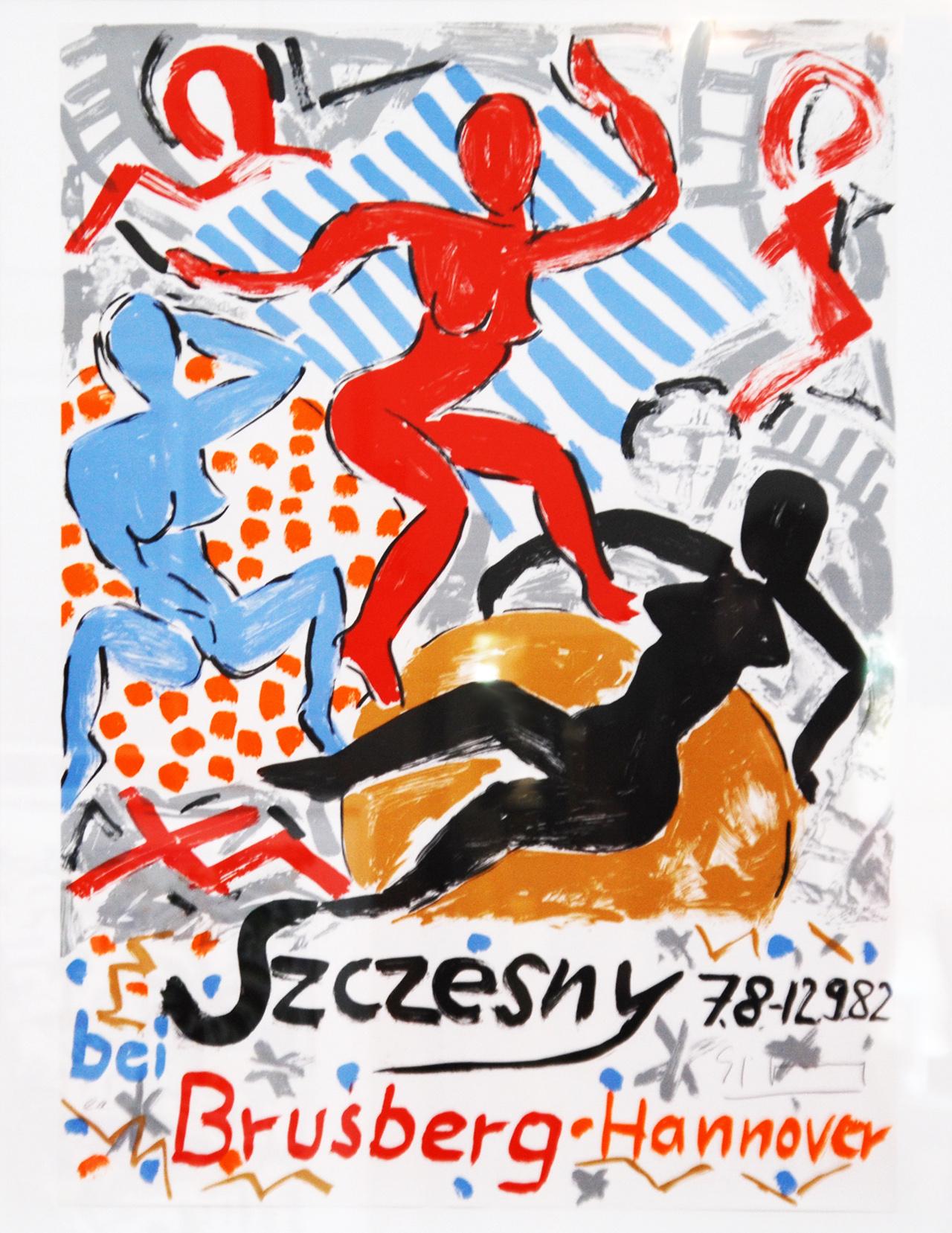 Ausstellungsplakat Szczesny