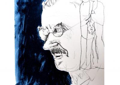 Bildnis Thomas Mann (in Gedanken)