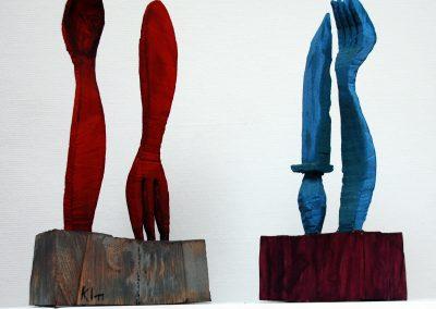 Messer und Löffel - Messer und Gabel