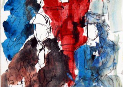 Jean und Betsy vor dem Holstentor