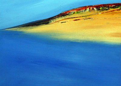 Abstrakte Landschaft XIII