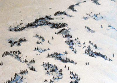 Berge CXXXIII (b) - Acryl auf Leinwand - 90 x 100 cm