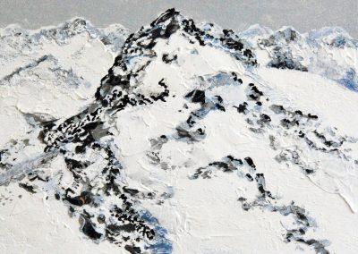 Berge Klein 4 - Acryl auf Holz - 30 x 45 cm