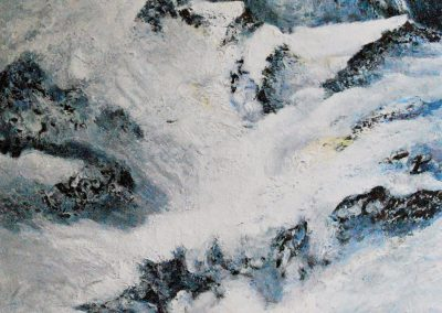 Berge LV - Acryl auf Leinwand - 130 x 100 cm