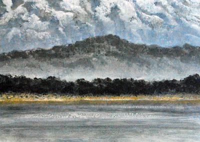 Berge XXV - Acryl auf Leinwand - 100 x 80 cm