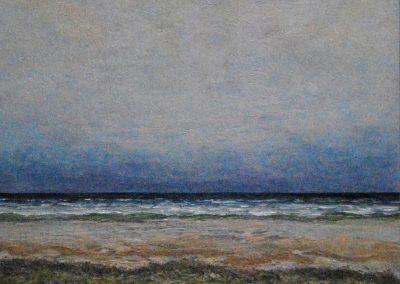 Bilder vom Meer 1 - Acryl auf Leinwand - 75 x 75 cm