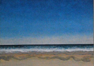 Bilder vom Meer 2 - Acryl auf Leinwand - 75 x 75 cm