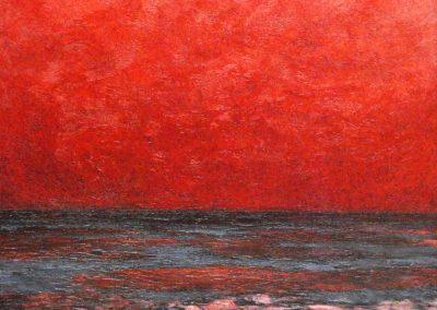Bilder vom Meer 3 - Acryl auf Leinwand - 80 x 80 cm