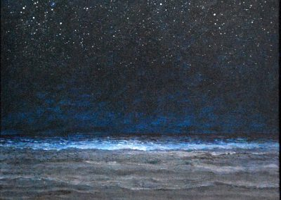 Bilder vom Meer 6 - Acryl auf Leinwand - 75 x 75 cm