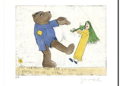 Spielt das Mäuschen, tanzt der Bär