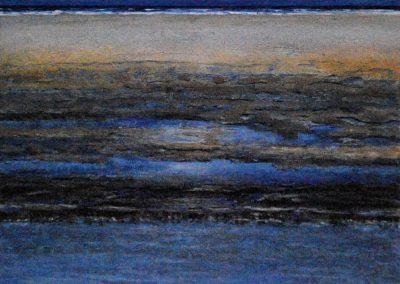 Untiefen 3 - Acryl auf Leinwand - 50 x 60 cm