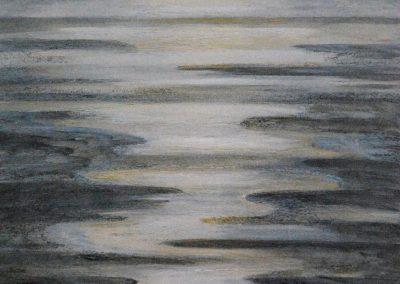 Untiefen 4 - Acryl auf Leinwand - 80 x 80 cm