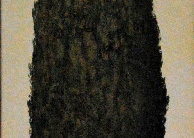Zypresse 2 - Acryl auf Leinwand - 35 x 120 cm