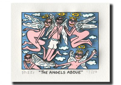 The Angels above