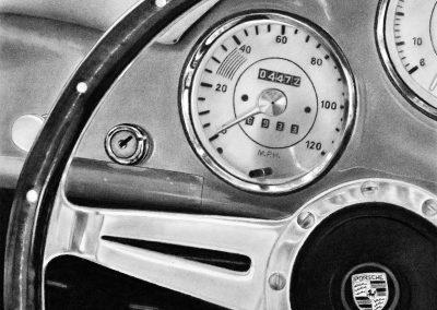 Steering the Porsche